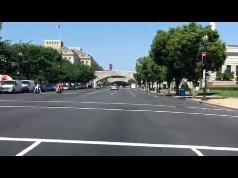 Washington, D.C. Downtown Street Tour (Part 2 of 2)