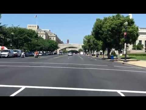 Washington, D.C. Downtown Street Tour (Part 2 of 2)