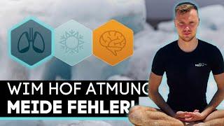 Wim Hof Atmung - Mach diese Fehler nicht! (Missverständnisse)