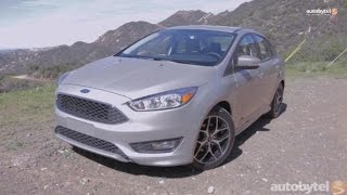 2015 Ford Focus 1.0 EcoBoost First Drive Video Review(http://www.autobytel.com/ford/focus/2015/?id=32972 This is no ordinary mundane Focus; the model seen in this video has the 1.0 Liter 3-Cylinder Turbocharged ..., 2015-02-25T17:07:36.000Z)
