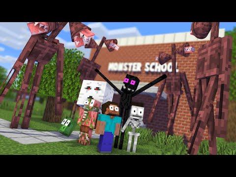 Monster School : SIREN HEAD APOCALYPSE CHALLENGE NEW EPISODE - Minecraft Animation
