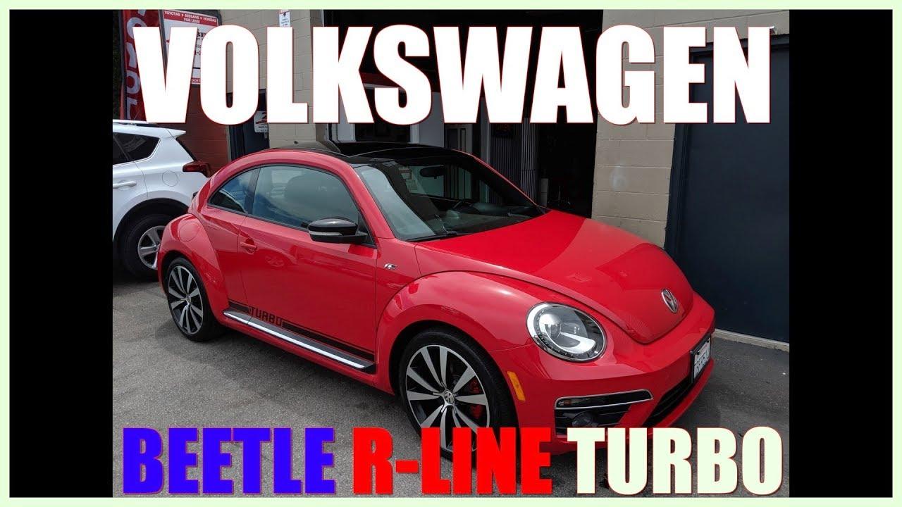 Volkswagen San Luis Obispo >> 2014 Volkswagen Beetle R Line 2 0t Turbo Auto 50k For Sale San Luis Obispo Ca 13995
