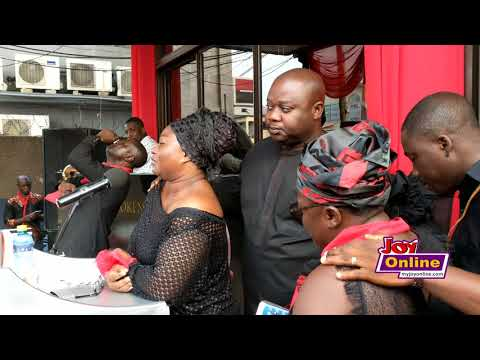 Emotions pour out as memorial service for KABA draws tears