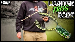 When to Consider a Lighter-Action Rod for Frog Fishing