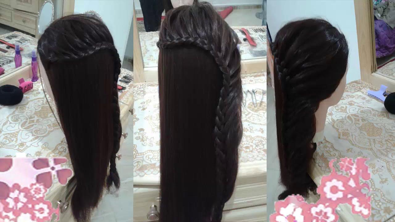 4 peinados faciles rapidos y bonitos con trenzas de moda - Peinados bonitos para ninas ...