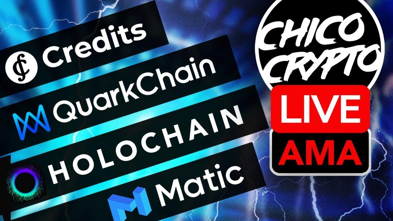 Live AMA: Credits, Matic Network, Holochain & Quarkchain