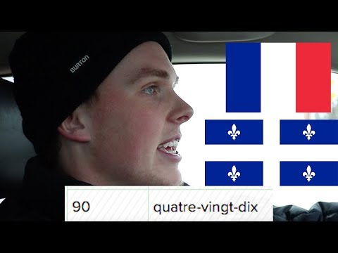 Counting to 100 in French with a NYC Cabbie