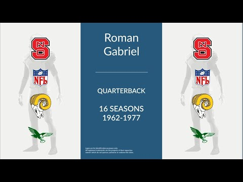 Roman Gabriel: Football Quarterback