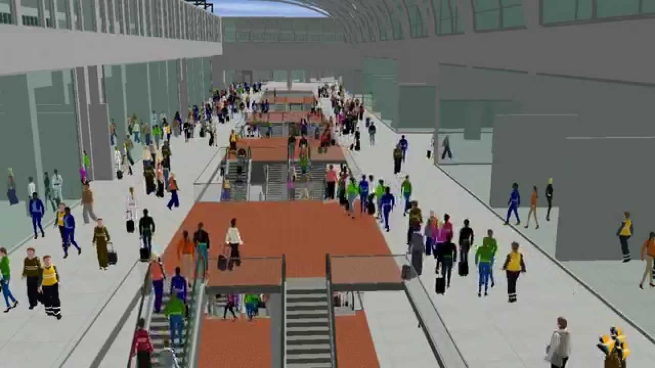 mod 233 lisation 3d de la future gare de montparnasse