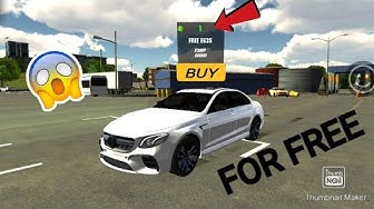 Car parking multiplayer New Update Mercedes E63S FOR FREE!!!