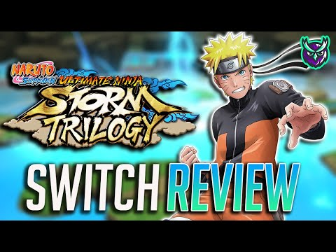 Naruto Shippuden Ultimate Ninja Storm Trilogy Switch Review