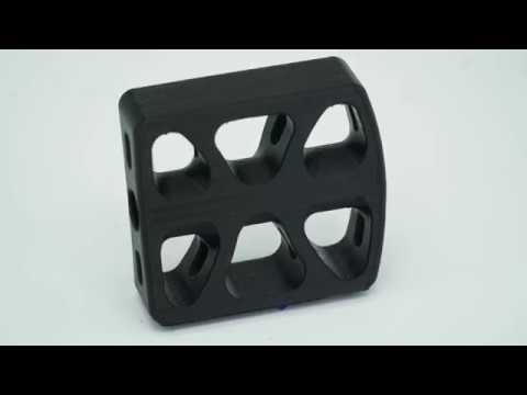 KINGSSEL 3D列印 腳踏車踏板 列印流程示範 - YouTube