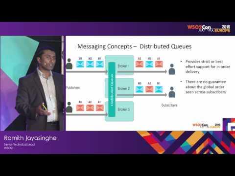 WSO2Con EU 2016 : Rethinking Message Brokering  with WSO2 Message Broker