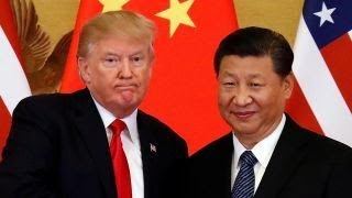 Trump says he's optimistic about trade deal with China