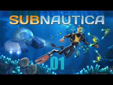 [FR] Subnautica Gameplay (mis à jour) – épisode 01