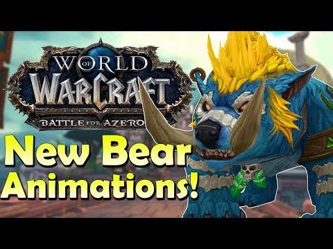 New Bear Animations! Mounts/ALL Druid Bears & NPCs   World of Warcraft