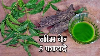 5 Neem Benefits in Hindi - नीम के लाभ by Sonia Goyal @ jaipurthepinkcity.com