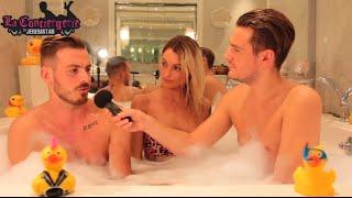 Aurélie et Julien (Les Vacances des Anges) dans le bain de Jeremstar - INTERVIEW