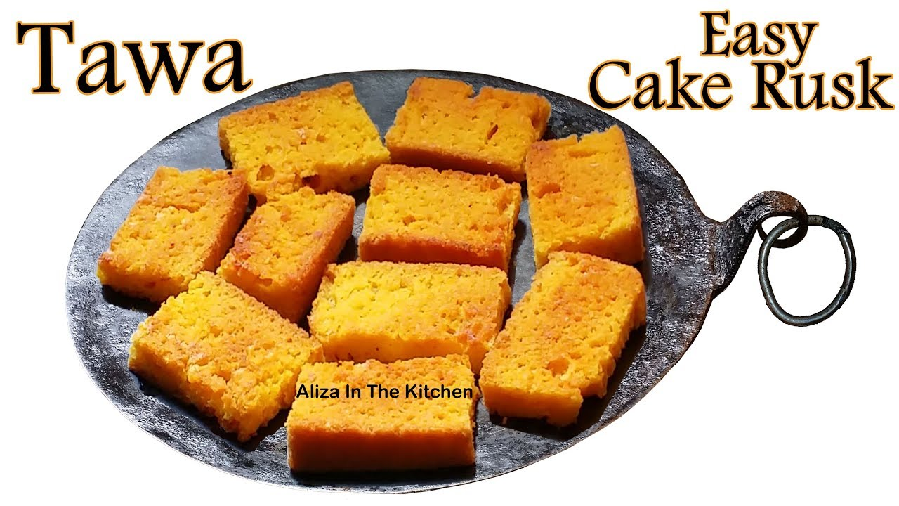 Cake Rusk Recipe Cake Rusk Without Oven Cake Rusk Aliza In The