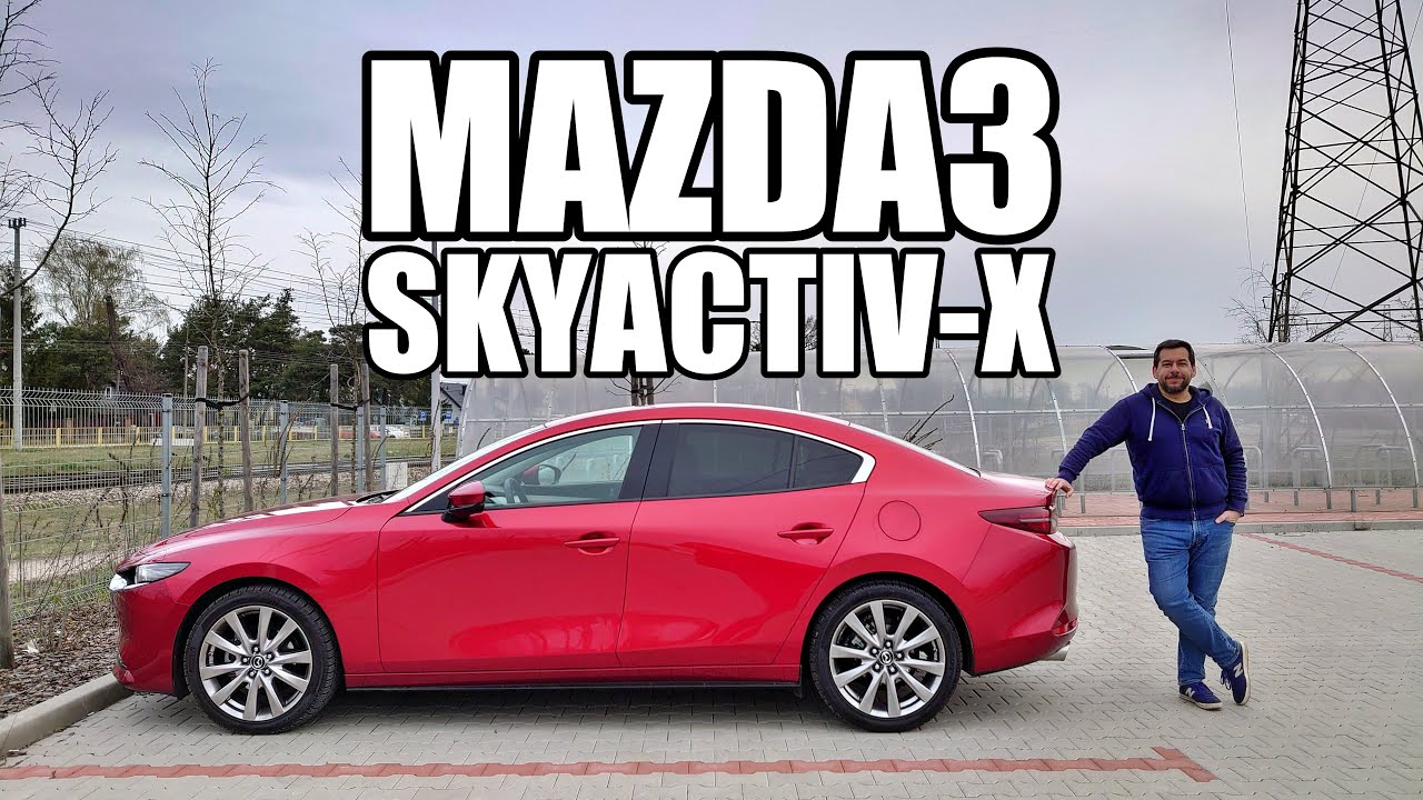 Mazda3 Skyactiv-X Sedan - Like a Diesel, But Petrol (ENG) - Test Drive and Review