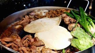 Pork Tacos | Mexican Street food Taquiza Discada