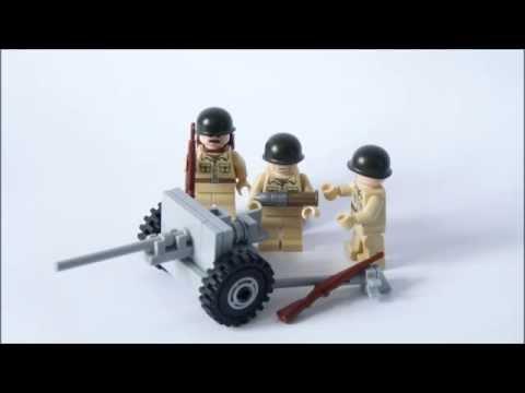how to build a lego ww2 german tank