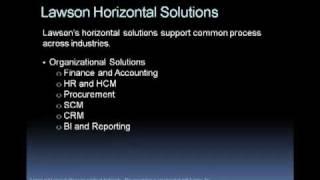 Lawson software company profile ...