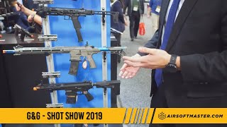 Shot Show 2019 - G&G Armament  Airsoft