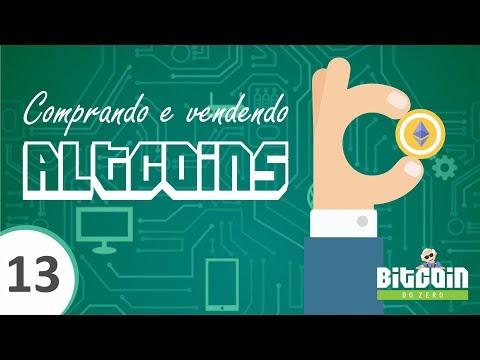 Comprando e vendendo altcoin (Curso Bitcoin do zero) #bitcoin #curso  #trade