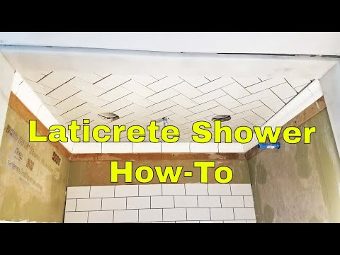 Complete Step by step Tutorial, installing waterproof shower with Hydro Ban Board