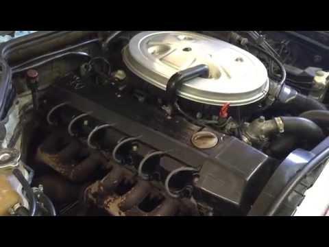 300E 1989 Mercedes Idle control valve and oxygen sensor