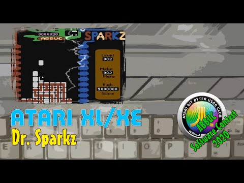 Atari XL/XE -=Dr. Sparkz=- ABBUC Software Contest 2020