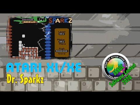 Atari XL/XE -=Dr. Sparkz=- ABBUC Software Contest 2020