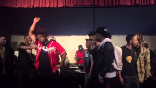 N8 performs #NaeNae w/ @Famous2Most, @Meechie_Ro, @ItsQuill