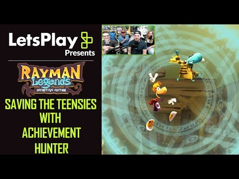 Rayman Legends: Saving The Teensies With Achievement Hunter   Let's Play Presents   Ubisoft