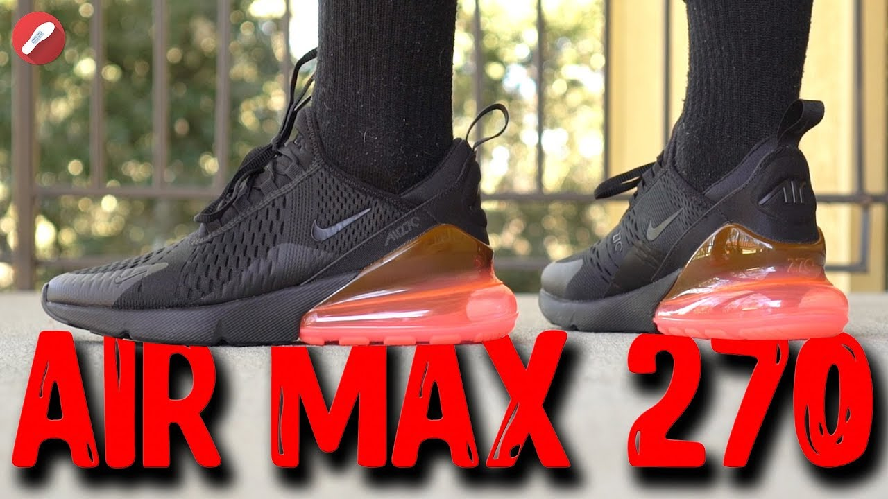 Nike Air Max 270 First Impressions! YouTube