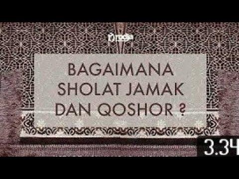 Tata cara sholat jamak dan qhosor,BY PP SIDOGIRI - YouTube