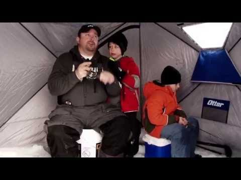 Ice Fishing - Hubs for the Family - YouTube