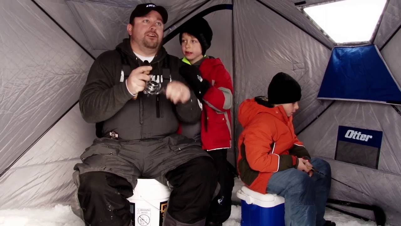 Ice Fishing - Hubs for the Family