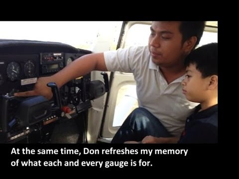 AIRLINE TRAVEL & AIRPORTS: Don's Solo Flight on Cessna 152
