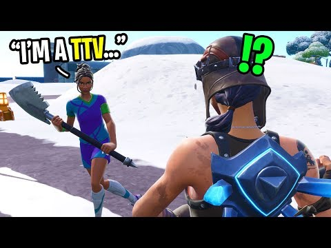 I met the funniest TTV streamer in Fortnite random duos... (he is HILARIOUS!)
