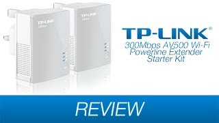 TP-Link AV500 Wi-Fi Powerline Extender Starter Kit TL-WPA4220KIT Review!