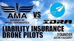 AMA vs IDRA - Drone Insurance