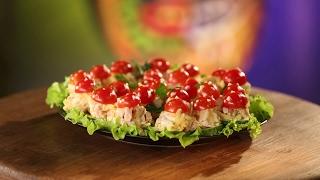 """Рецепт недели: """"мухоморчики"""" с помидорами черри"""