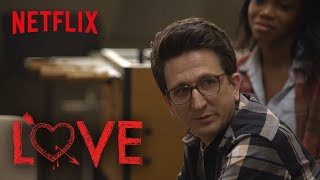 Love | Behind the Scenes: Paul Does Charity Work | Netflix