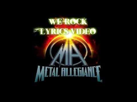 Metal Allegiance We Rock Lyrics