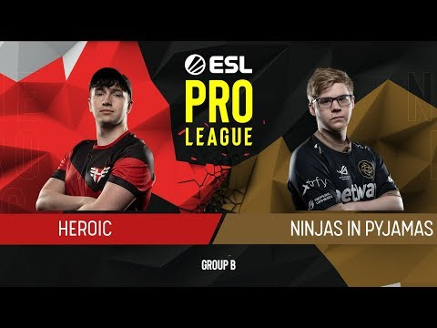 CS:GO - NiP vs. Heroic [Mirage] Map 3 - Group B - ESL Pro League Season 9 Europe thumbnail