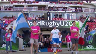 Italy 30-26 Argentina - World Rugby U20 Highlights