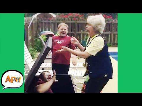 Getting Grandma GOOD! 😂   Funny Pranks & Fails   AFV 2021