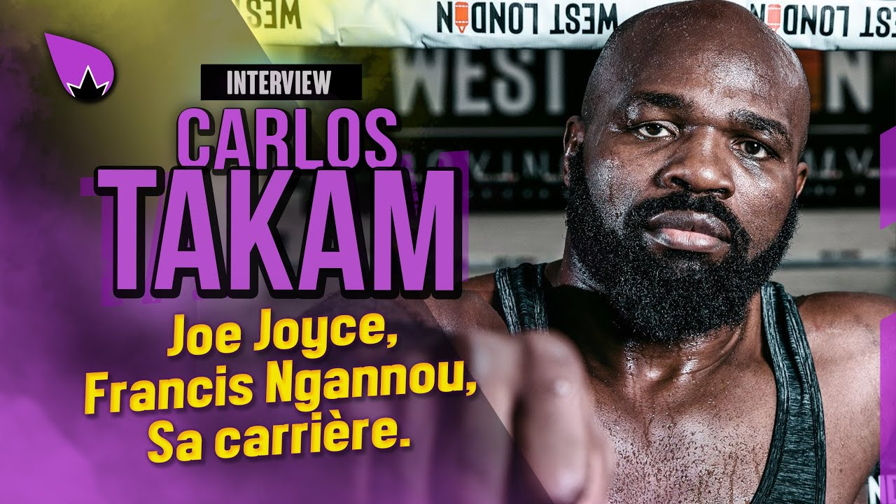 """Interview Carlos Takam : """"Je gagne et je fais une ceinture"""" 🥊"""